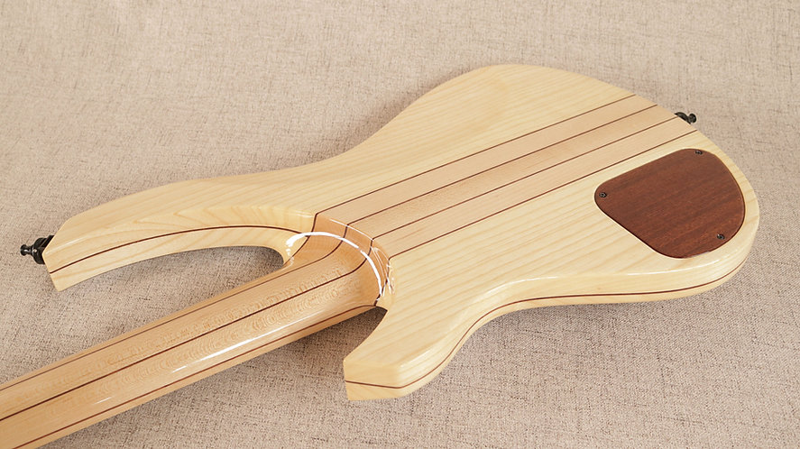 Spring Bass Guitar (laminated ash body)