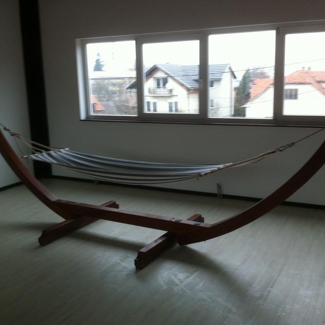 Glulam hammock