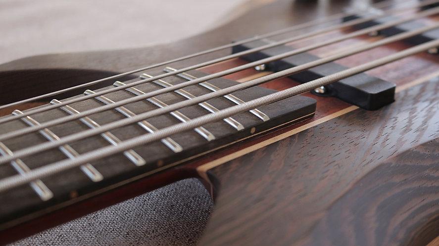 5 string Spring Bass Guitar (wenge body)