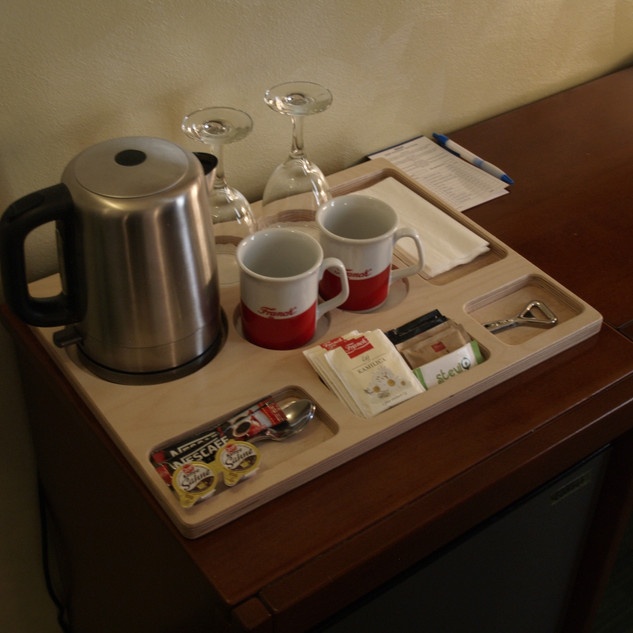 Breakfast stand