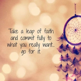 A Leap of Faith - from the Mind into the Heart