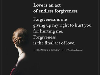A Time of Forgiveness