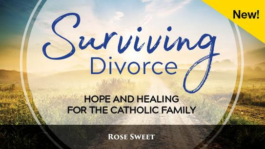 """DIVORCE has affected everyone , whether it's you, a family member, friend or coworker.  It happens, and it hurts. Our parish is here to help the separated and divorced AND their families. We're excited to start a new 12-week program  August 7 at 6:30 PM  in the ministry house on Greystone.  Will you be the foot soldiers we need to bring the wounded in from the battlefield? PLEASE take this flyer to  someone who needs        direction, help, and most of all . . . God's healing LOVE."""
