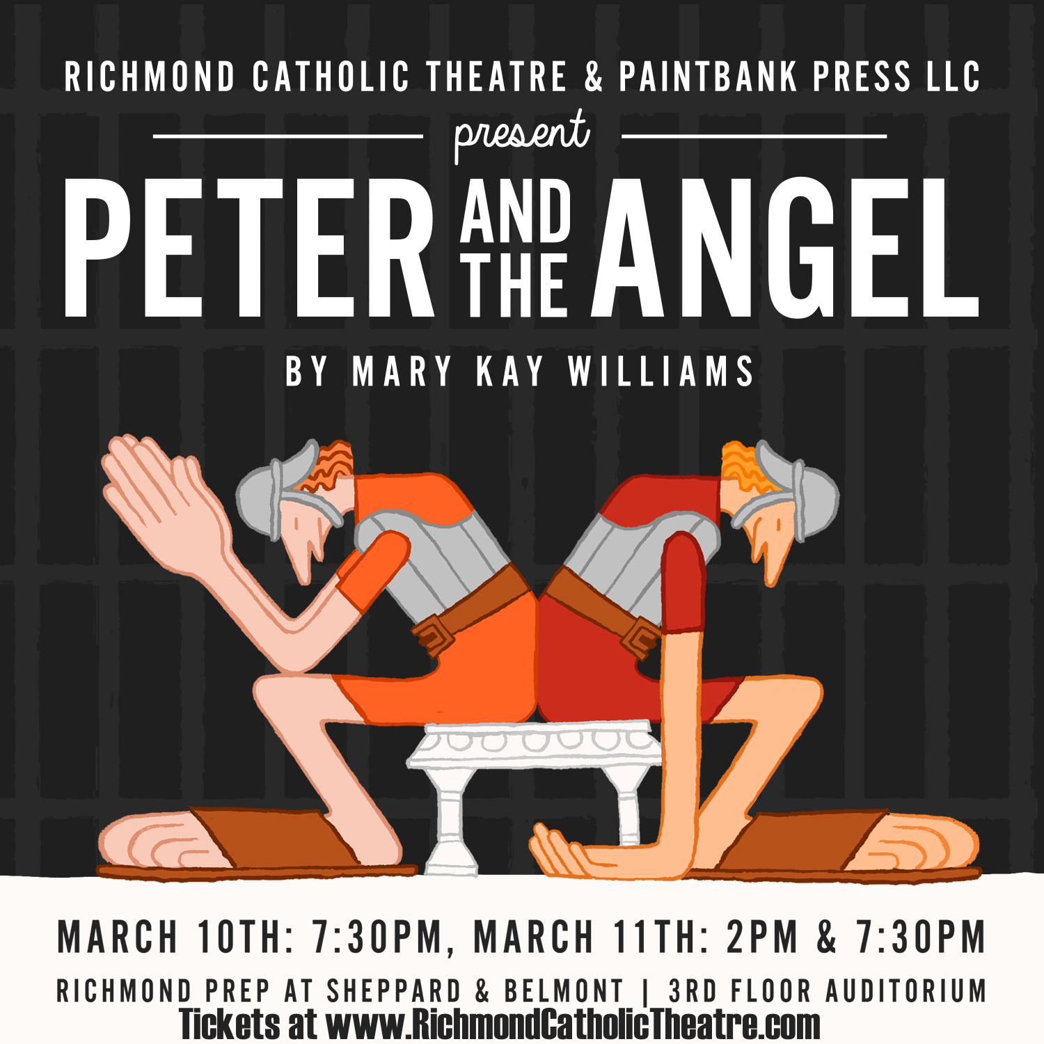 Peter and the Angel Poster