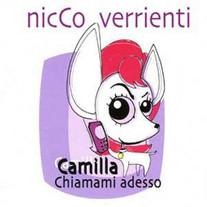 Camilla Chiamami Adesso - single SonyBmg - scritta da Niccolò e Carlo Verrienti, prodotta da Franco Cristaldi