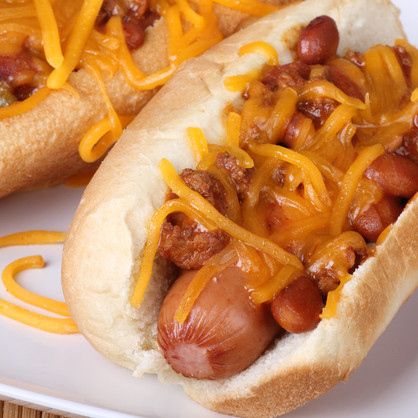 BAKED CHILLI CHEESE DOGS