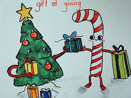 Gift of Giving Card