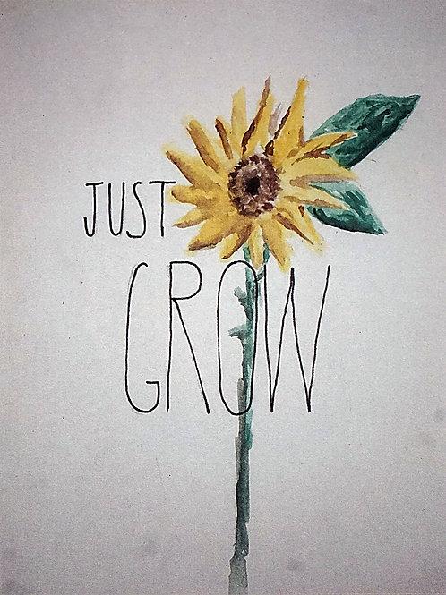 Just Grow Card
