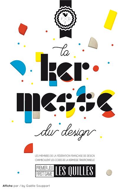 Les Quilles - La Kermesse du design - FF