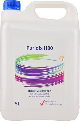 Puridix Hände-Desinfektion