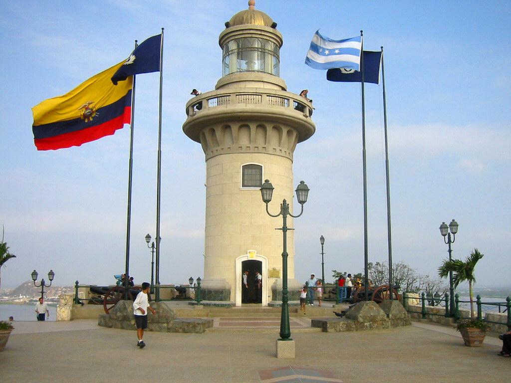 Faro en el Malecón de Guayaquil