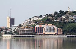 Vista del Hermoso Malecón de Guayas
