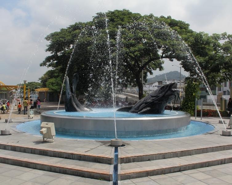 Fuente del Bagre en Guayaquil