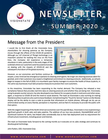 VIS Newsletter Summer 2020