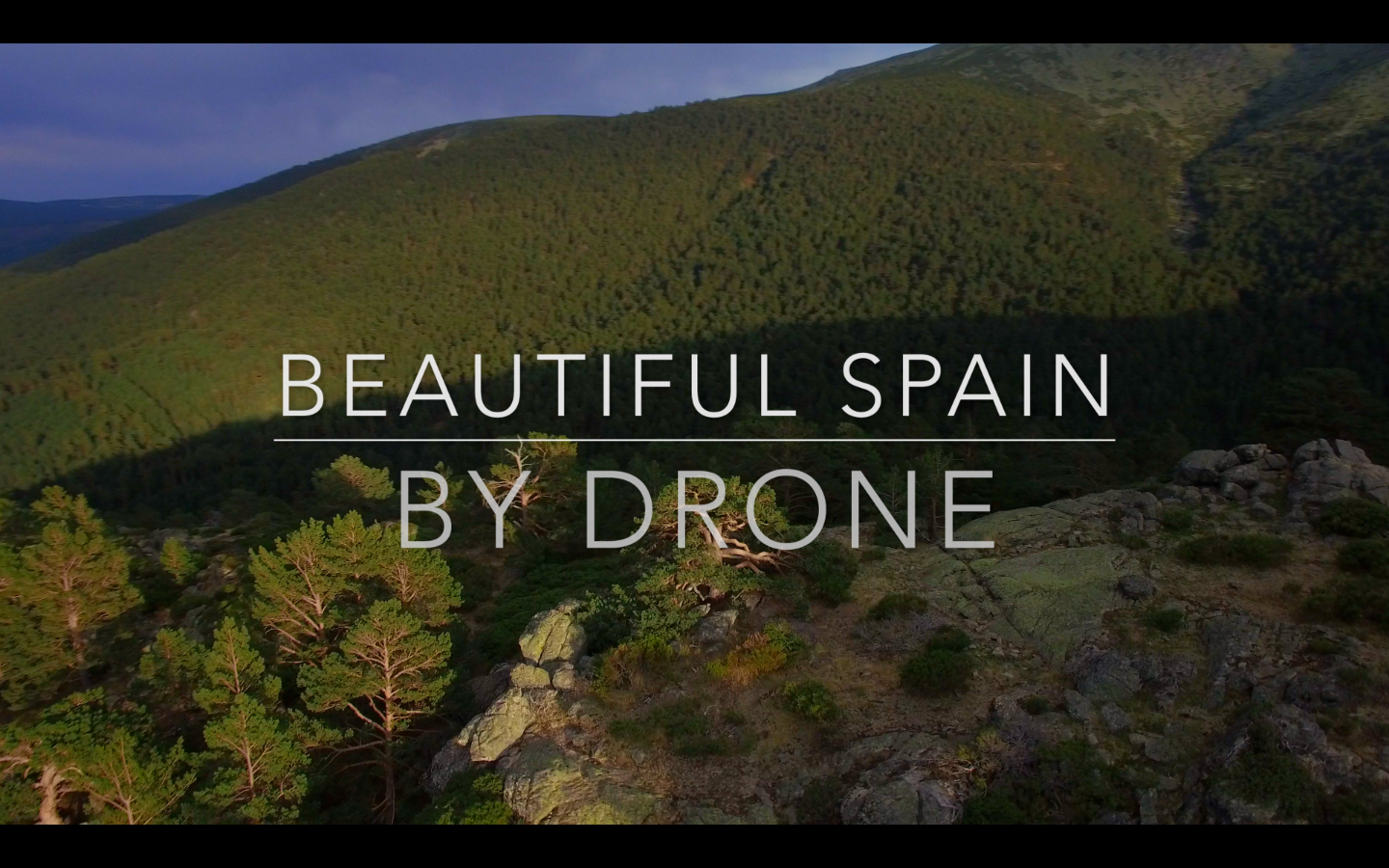 Beautiful Spain by Drone
