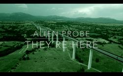 Alien Probe They´re here