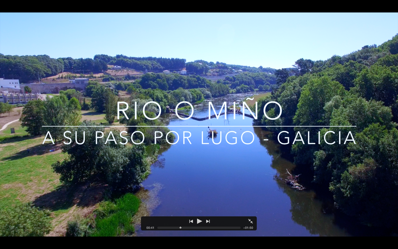 Rio Miño a su paso por Lugo