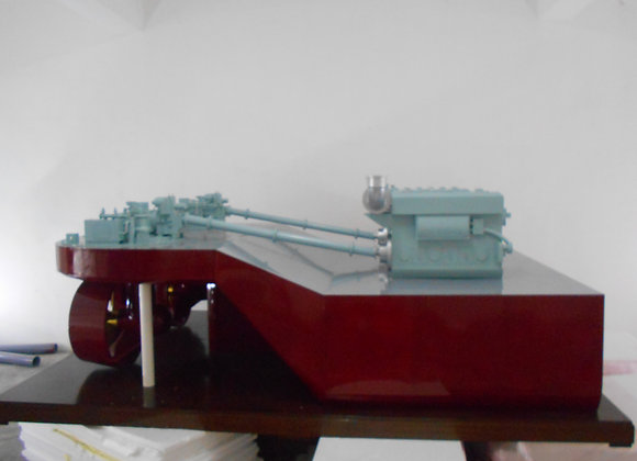 Propulsion Diesel Engines System (Scale 1:5)
