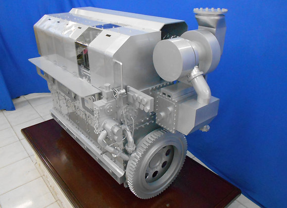 Propulsion Diesel Engine (Scale 1:4)