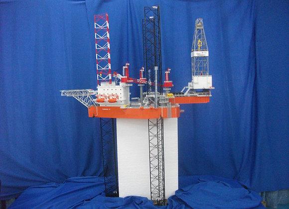 B361Class B Jackup Rig (Scale 1:150)
