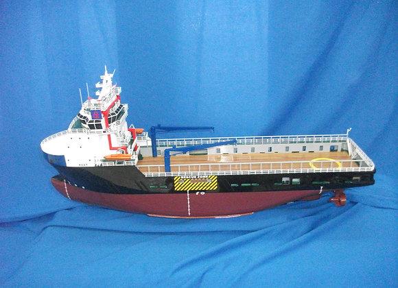 83m Platform Supply Vessel (Scale 1:140)