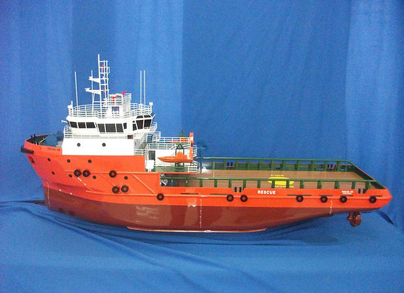 65m Offshore Support Vessel (Scale 1:75)