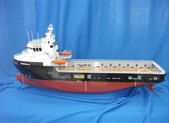 76m Platform Supply Vessel (Scale 1:120)