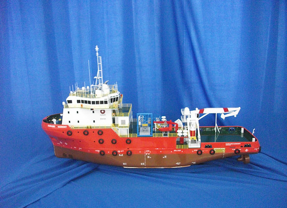 65.5m ROV Support Vessel (Scale 1:75)