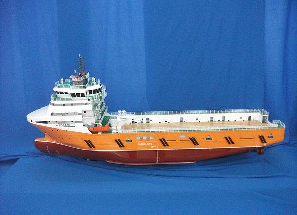 88.8m Multi-purpose Support Vessel (Scale 1:100)