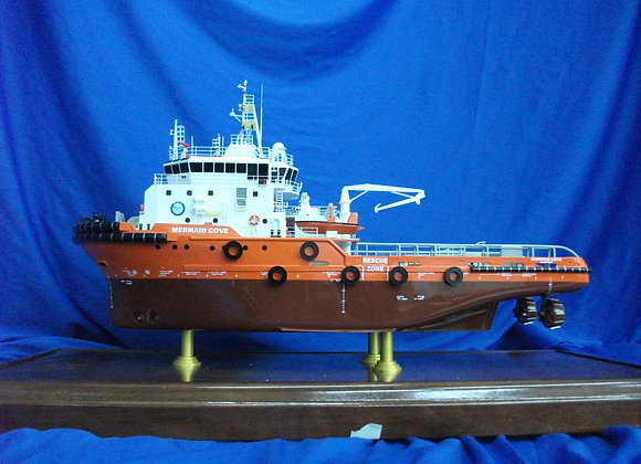 52.35m Offshore Support Vessel (Scale 1:100)