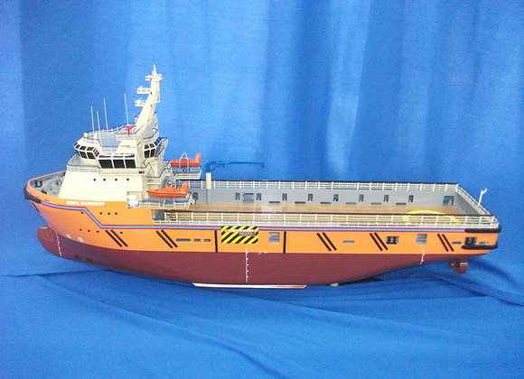 78m Platform Supply Vessel (Scale 1:120)