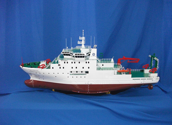 80m Research & Survey Vessel (Scale 1:100)