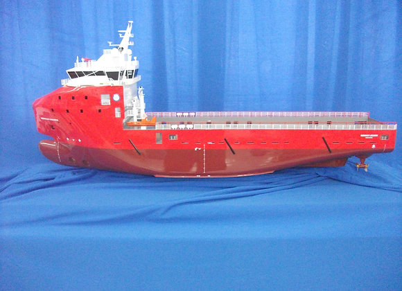 82.2m Platform Supply Vessel (Scale 1:75)