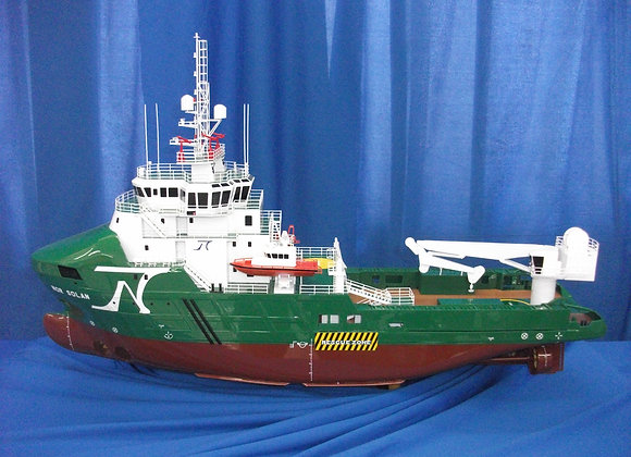 67m Offshore Support Vessel (Scale 1:100)