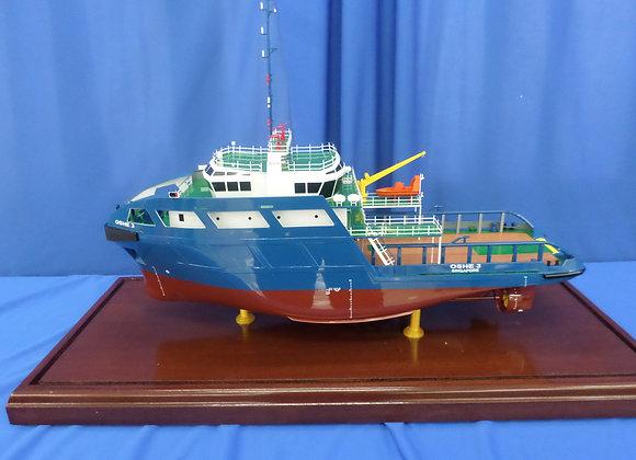 46m Anchor Handling Tug Supply Vessel (Scale 1:70)