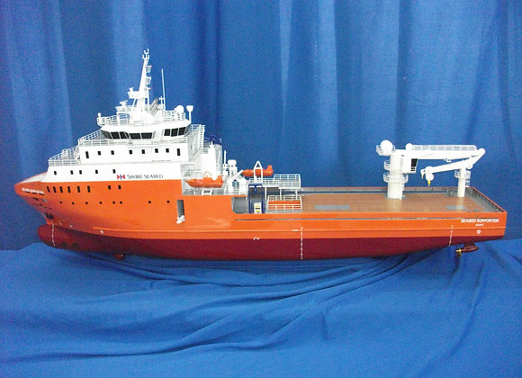 89.85m Multi-purpose Support Vessel (Scale 1:100)