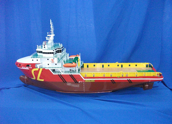 84.8m Anchor Handling Tug Supply Vessel (Scale 1:100)