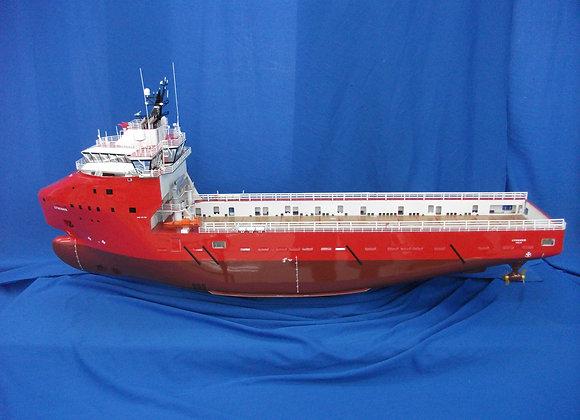 87.9m Platform Supply Vessel (Scale 1-100)
