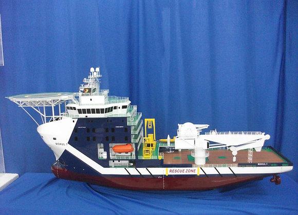 89.3m Multi-purpose Support Vessel (Scale 1:75)