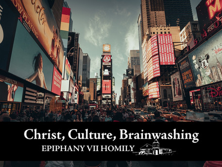 Christ, Culture, & Brainwashing