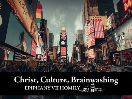 Christ, Culture, & Brainwashing