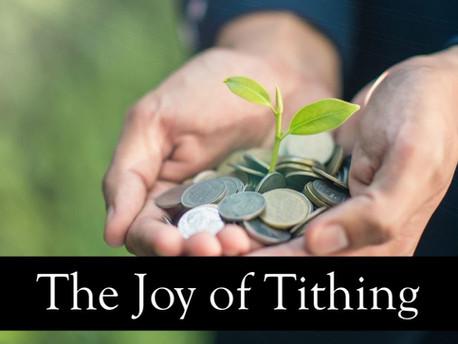 The Joy of Tithing