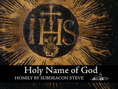 Holy Name of God