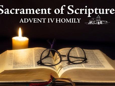 Sacrament of Scripture