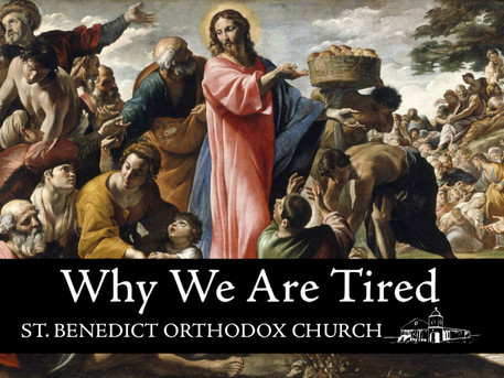 Why We Are Tired