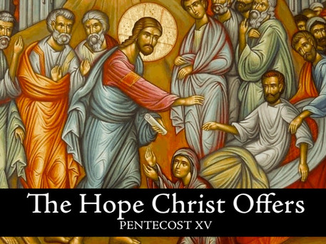 The Hope Christ Offers