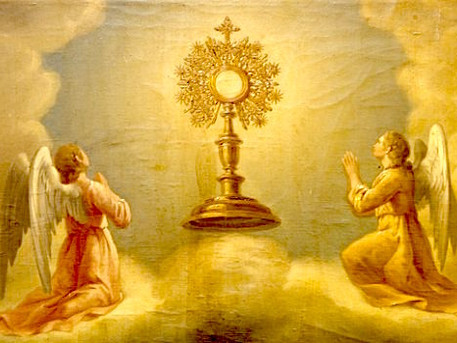 Contemplating the Eucharist