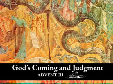 God's Coming and Judgment