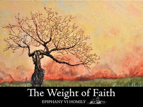 The Weight of Faith