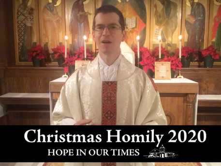 Christmas Homily: Hope in Our Times